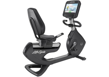 Life Fitness Platinum Club Series Recumbent Lifecycle Exercise Bike - PCSRS-ALLXX-0107