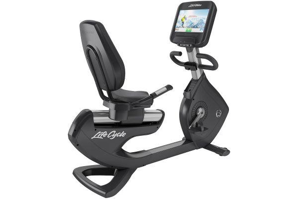 Large image of Life Fitness Platinum Club Series Recumbent Lifecycle Exercise Bike - PCSREDOMXX06