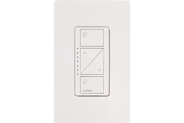 Lutron Caseta White Wireless In-Wall Dimmer - PD-6WCL-WH