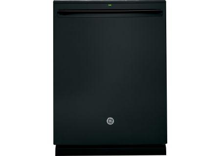 """GE Profile 24"""" Black Built-In Dishwasher - PDT825SGJBB"""