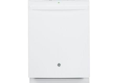 """GE Profile 24"""" White Built-In Dishwasher - PDT825SGJWW"""