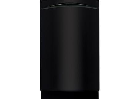 "GE Profile 18"" Black Built-In Dishwasher - PDW1800KBB"