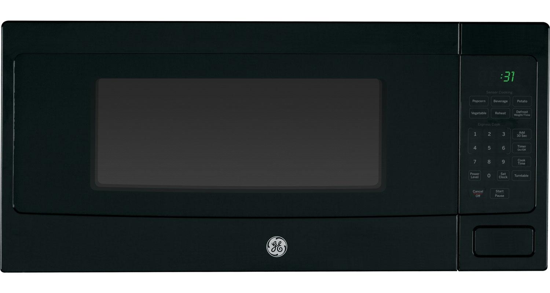Ge Profile Black Countertop Microwave Oven