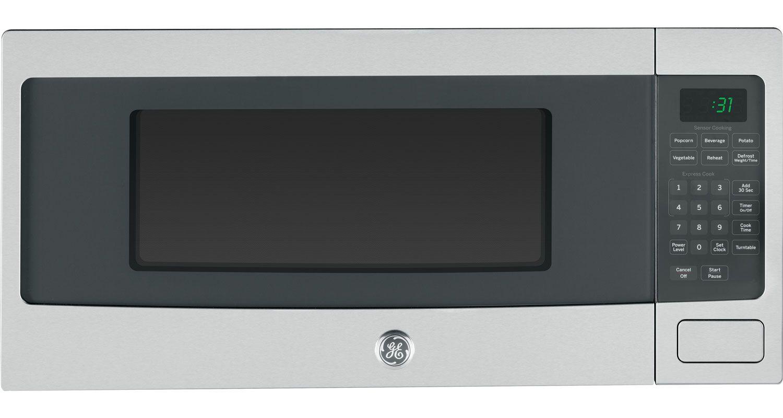 Best Countertop Microwave Oven Under 100 : GE Profile Stainless Steel Countertop Microwave Oven - PEM31SFSS