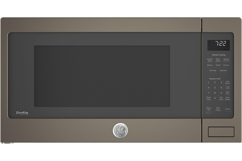 Ge Profile Slate Countertop Microwave