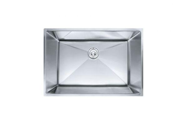 Large image of Franke Planar 8 Stainless Steel Kitchen Sink  - PEX110-28