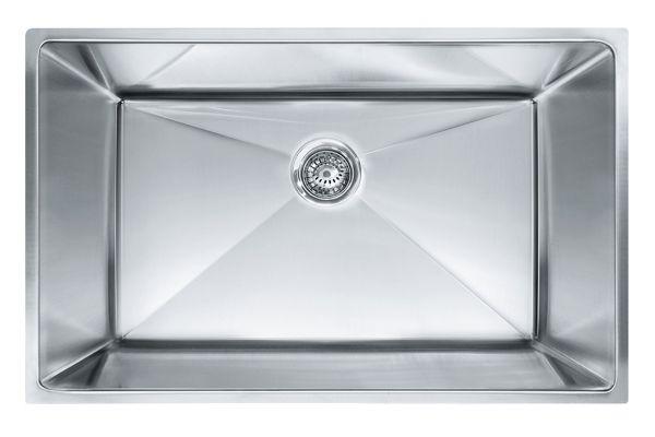 Franke Planar 8 Stainless Steel Single Bowl Kitchen Sink - PEX110-31