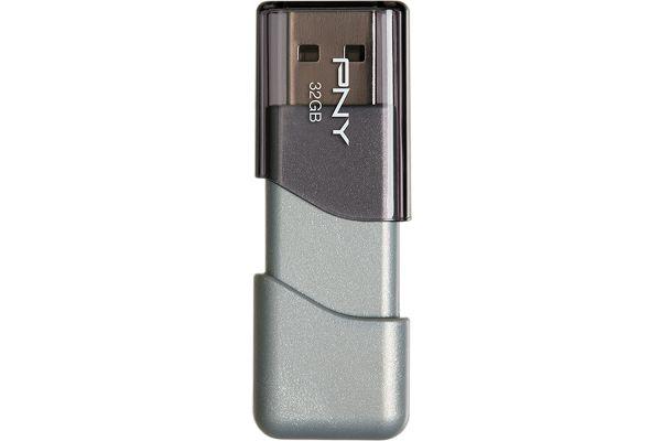 PNY 32GB Turbo 3.0 USB Flash Drive - P-FD32GTBOP-GE