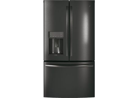 Ge Black Stainless French Door Refrigerator Pfe28kblts