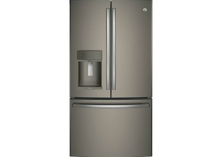 GE Profile Slate French Door Refrigerator - PFE28KMKES