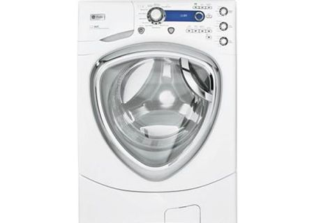 GE - PFWS4600LWW - Front Load Washing Machines