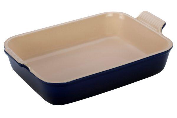 Le Creuset Heritage 4 Quart Indigo Rectangular Dish - PG07003A-3278