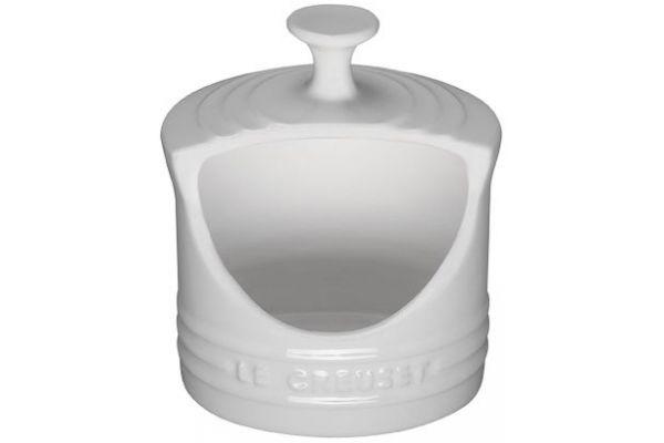 Le Creuset White Salt Crock Stoneware - PG10201016