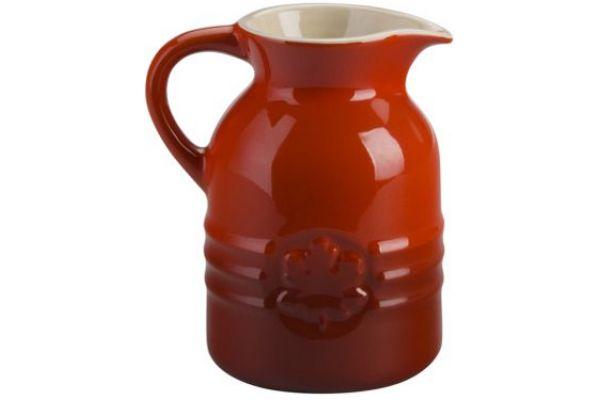 Le Creuset 8 Oz Cerise Syrup Jar - PG1085-0567