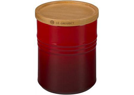 Le Creuset 2.5 Quart Cerise Storage Canister - PG1519-1467