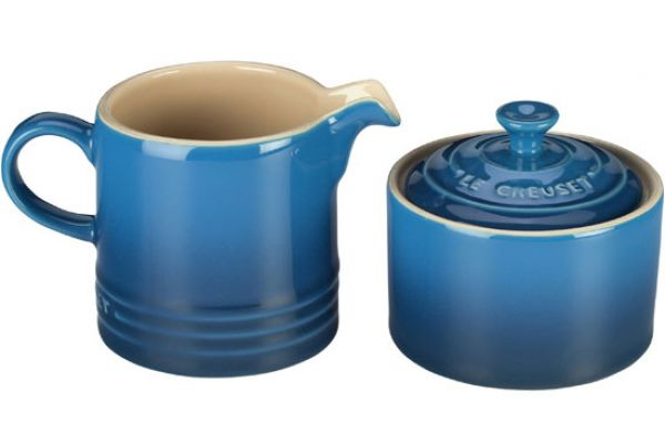 Large image of Le Creuset Marseille Cream And Sugar Set - PG8005-1059