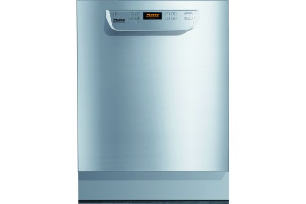 """Large image of Miele ADA 24"""" Stainless Steel Professional Series Built-In Dishwasher - 09862620"""