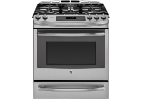 GE - PGS920SEFSS - Slide-In Gas Ranges