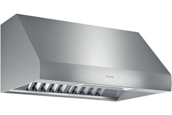 """Large image of Thermador 36"""" Professional Series Stainless Steel Wall Hood - PH36GWS"""