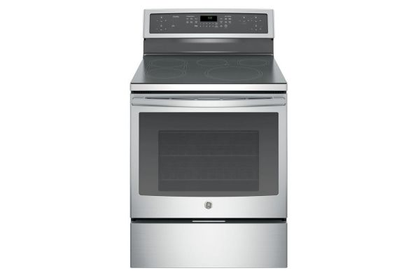 """GE Profile Series 30"""" Stainless Steel Electric Induction and Convection Range - PHB920SJSS"""