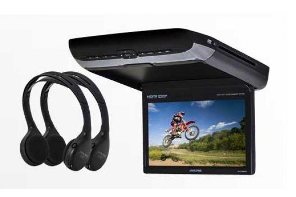 "Alpine 10.1"" Rear Seat Entertainment System - PKG-RSE3HDMI"