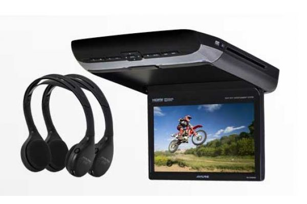 "Large image of Alpine 10.1"" Rear Seat Entertainment System - PKG-RSE3HDMI"