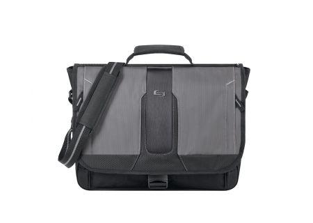 "SOLO Active 15.6"" Grey Messenger Bag  - PLS507-4"