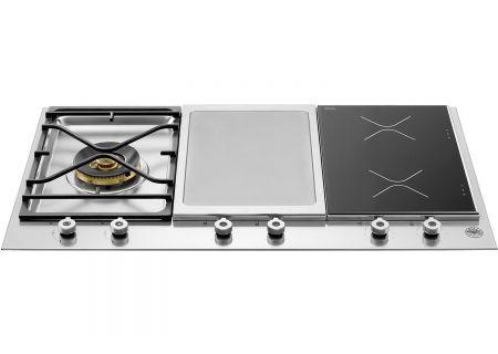 "Bertazzoni 36"" Professional Series Segmented Stainless Steel Cooktop - PM361IGX"