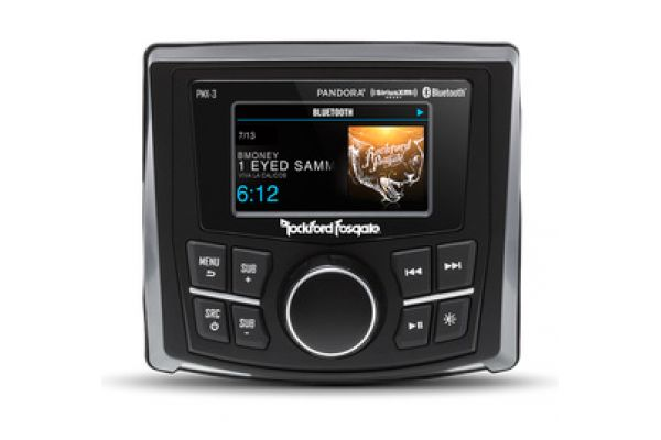 """Large image of Rockford Fosgate Compact 2.7"""" Digital Media Receiver - PMX-3"""
