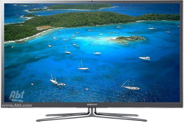 "Samsung 64"" Silver Plasma 1080P 3D Smart HDTV - PN64E8000"