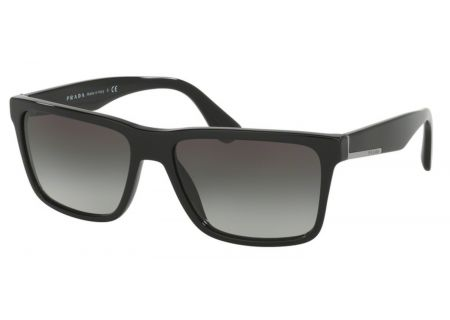 Prada Black Square Mens Sunglasses - PR 19SS 1AB0A7