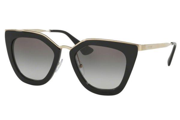 Large image of Prada Black Cat Eye Womens Sunglasses - PR53SS 1AB0A7