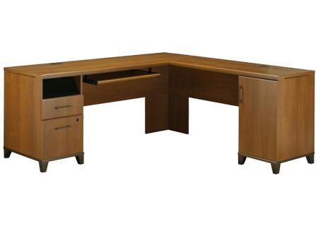 Bush Achieve L Desk Warm Oak Computer Desk - PR67310K