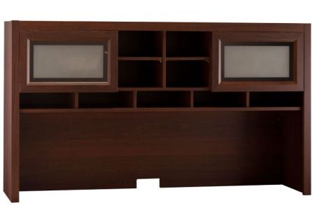 Bush Furniture Achieve Collection Sweet Cherry Hutch  - PR67611