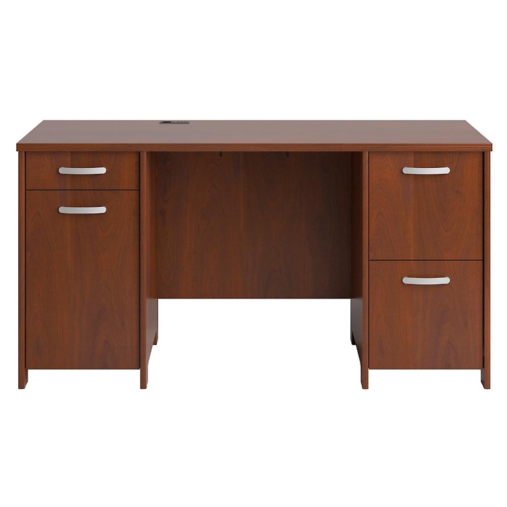 Bush Furniture Envoy Double Pedestal 58 Quot Desk Pr76560k