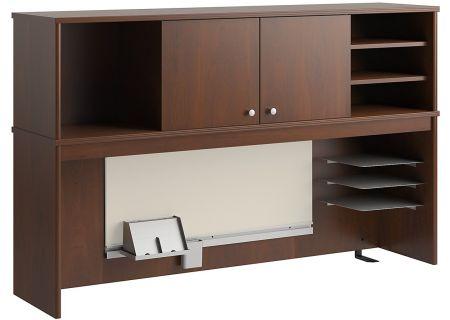 """Bush Furniture Envoy 16"""" Hutch Hansen Cherry - PR76561"""