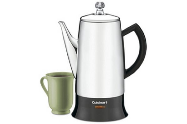 Cuisinart Classic 12-Cup Stainless Percolator - PRC12