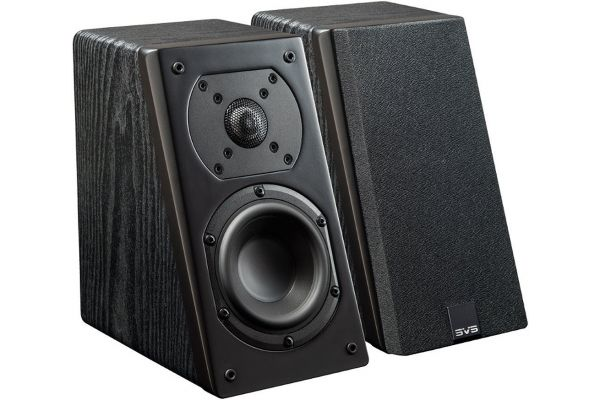 Large image of SVS Black Ash Prime Elevation Speakers (Pair) - PRIMEELEVATIONBK