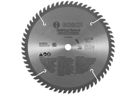 Bosch Tools 10 Inch Plywood And Finishing Circular Saw Blade - PRO1060FINB