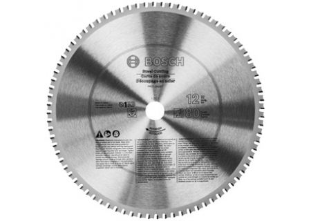 """Bosch Tools 12"""" 80 Tooth Plywood and Finishing Circular Saw Blade - PRO1280ST"""