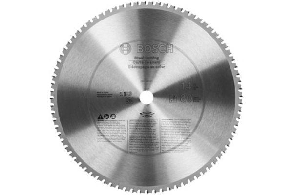"Bosch Tools 14"" 80 Tooth Ferrous Metal Cutting Circular Saw Blade - PRO1480ST"