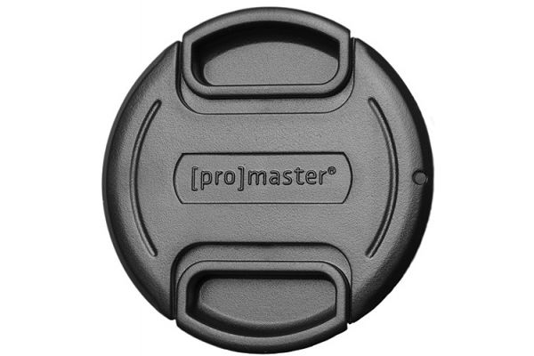 Large image of ProMaster 55mm Professional Strap-On Lens Cap - PRO4550