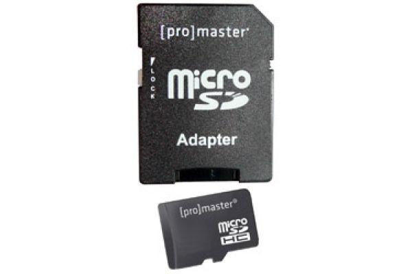 ProMaster 64GB Performance MicroSD Memory Card - PRO5839
