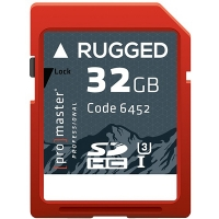 ProMaster Professional 32GB SDXC 600X Rugged Memory Card