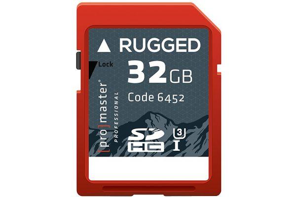 ProMaster Professional 32GB SDXC 600X Rugged Memory Card - 6452