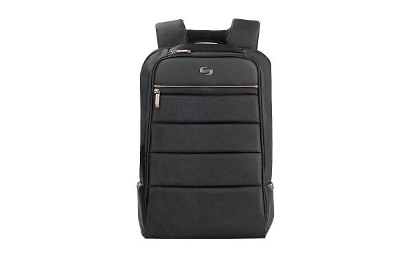 "Large image of SOLO Pro 15.6"" Black Backpack  - PRO750-4"