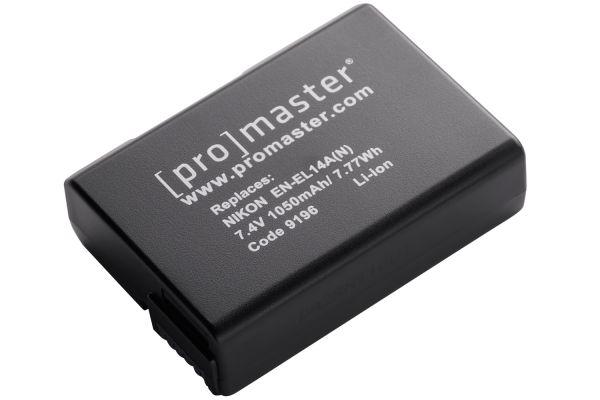 Large image of ProMaster Nikon EN-EL14A Li-Ion Battery - PRO9196