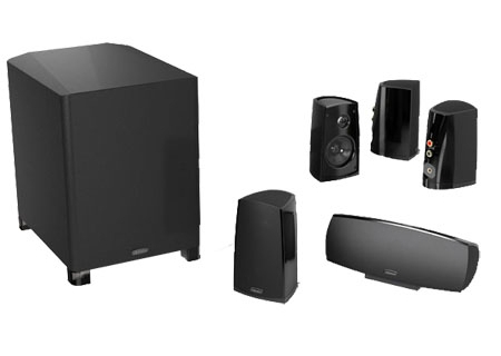 Definitive Technology - PROCIN400B - Home Theater Speaker Packages