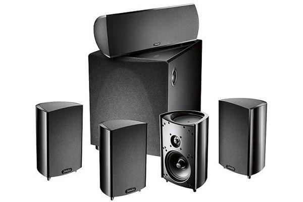 Large image of Definitive Technology ProCinema 600 Black Home Theater Speaker System - QDVA