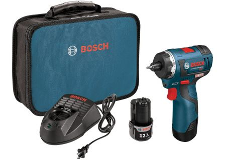 "Bosch Tools 12V Lithium Ion 1/4"" Drill/Driver  - PS22-02"